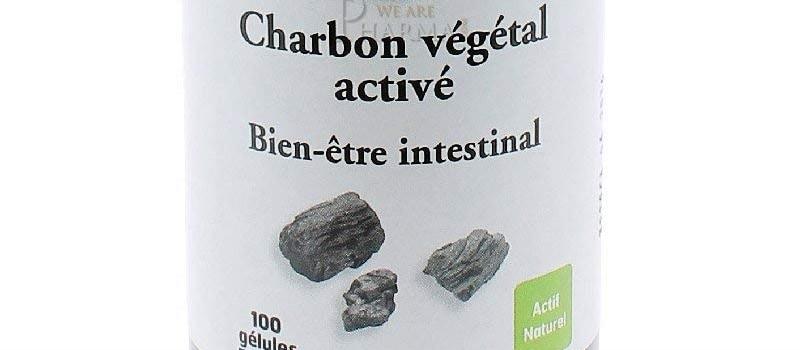 charbon végétal actif produit naturel