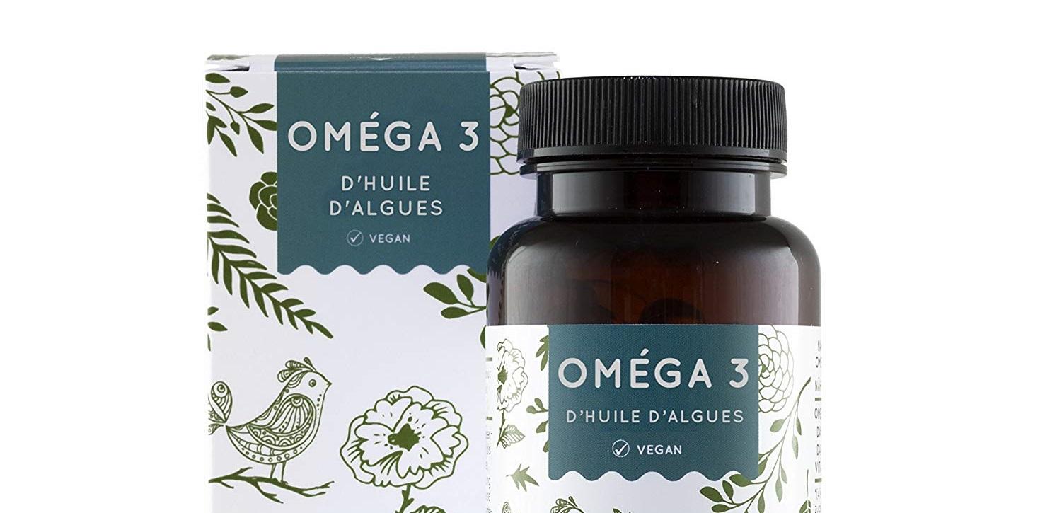 Oméga 3 huile d'algue